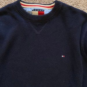 Vintage 1990's Tommy Hilfiger Knit Cotton Sweater